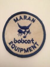 "Maran Bobcat Equipment Sew On Patch 3"" Farm Embroidered"