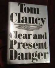 Tom Clancy - CLEAR AND PRESENT DANGER - BOMC printing