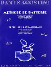 Partitions musicales et livres de chansons musicaux, pour batterie