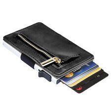 Pop-up Aluminium Creadit Card Holder Case Wallet RFID Blocking Slide Purse Handy