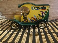 1998 Gearbox Limited Edition Coin Bank 1912 Ford Crayola Truck #1 See Pics!