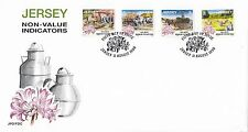 (44666) GB Jersey FDC NVI Non-value Indicators Days Gone By -  11 August 1998