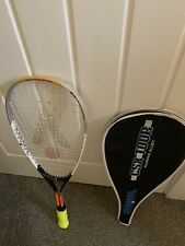 KARAKAL CSX JUNIOR SQUASH RACKET *NEW OVERGRIP & Inc New case