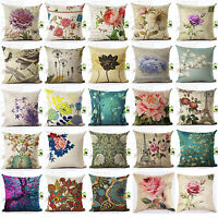 Shiny Rose Peony Flowers Pillow Case Pillow Cover Sofa Cushion Cover Home Decor
