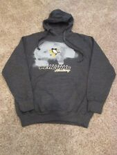 New without tags, Pittsburgh Penguins grey hooded sweatshirt, Men's size Large