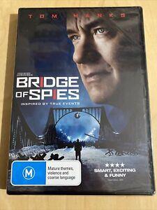 Bridge Of Spies (DVD, 2015) Tom Hanks Brand New Sealed Region 4