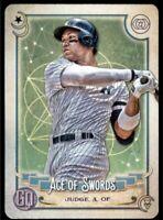 2020 Gypsy Queen Aaron Judge Tarot of the Diamond #TOD-19 Yankees