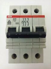 Abb, S273-K6A, Circuit Breaker, 3P, 220/380Vac, 10Ka, Max 240Vac, New Surplus