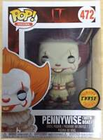 It (2017) - Pennywise (with Boat) Pop! Vinyl Figure NEW Funko rare CHASE EDITION