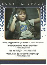 Lost in Space Rittenhouse Archives Rewards Quotable Card Q11