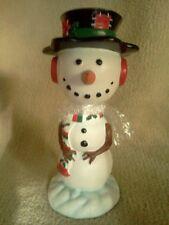 Vintage 1991 Bobblehead Snowman Collectable