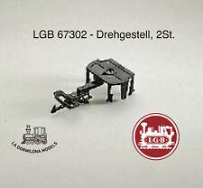 LGB 67302 - Drehgestell, 2St. / Boggie (2unidades) (c104)
