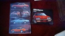 1976 Chevrolet Monza Booklet Pamphlet Ad