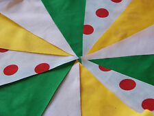 Tour De France Handmade fabric bunting 1m Lengths Celebration Parties Decor