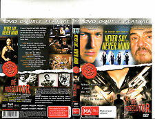Never Say Never Mind-2001-Bruce Payne/The Prosecutor-Earnest Hart jr-2 Movie-DVD