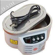 DADI DA-968 Dual Power 30W 50W Stainless Steel Ultrasonic Cleaner 220V or 110V