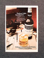 [GCG] M810 - Advertising Pubblicità - 1972 - WILLIAM LAWSON'S SCOTCH WHISKY