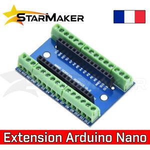 Carte d'extension adaptateur bornier Arduino Nano V3 - Expansion shield terminal