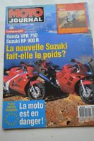 MOTO JOURNAL 1117 Essai Road Test BMW K75 Limited HONDA VFR 750 SUZUKI RF 900 R