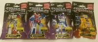 Transformers Mini Figure Set 4 Megatron Bumblebee Soundwave Starscream NEW