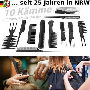 Kamm Haarkamm Set breiter Styling Haarschneider Herren Friseur Haarschneidekamm