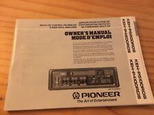 Pioneer KEH P5200 P4200 P5100 P4100 autoradio notice utilisation mode d' emploi