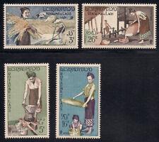 Laos   1957   Sc # 37-40   VLH   OG   (1-308)