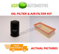 PETROL SERVICE KIT OIL AIR FILTER FOR FIAT PANDA 1.1 54 BHP 2003-12