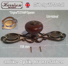 Möbelknopf Möbelgriff Möbelgriffe Möbelknöpfe Griff Knopf antik Optik Beschläge