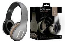 Mental Beats Heat 2 in 1 Bluetooth Wireless Headphone Headset Gray