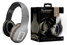 Mental Beats Heat 2 in 1 Bluetooth Wireless Headphone Headset Gray