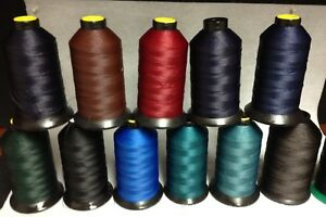 207(Tex 210) Heavy Weight Bonded Nylon/Poly Leather/Canvas/Awning Thread