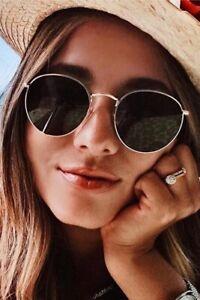 Medium Size ROUND Women Sunglasses RAY Oval Shadz GAFAS Fashion MARILYN