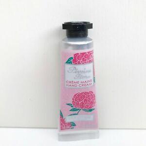 L'Occitane Pivoine Flora Hand Cream, 10ml, Travel Size, Brand New!