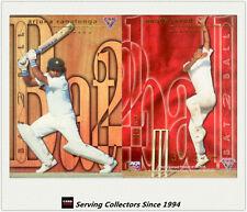 1995-96 Futera Cricket No Limit Cards Bat To Ball B2B10: A.Javed/ A.Ranatunga