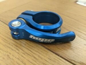 Hope Quick Release Seat Post Clamp 31.8mm Blue