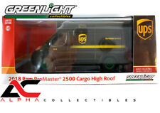 CHASE GREENLIGHT 86156 1:43 2018 RAM 2500 CARGO VAN UPS UNITED PARCEL SERVICES