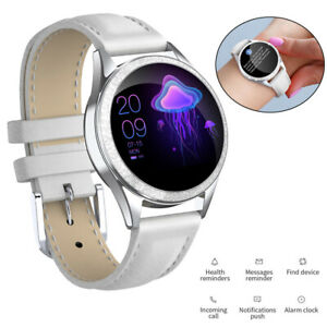 Women Girls Bluetooth Smart Watch Heart Rate Monitor Calls Reminder for iPhone
