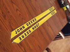John Deere New 300 Hood Decals