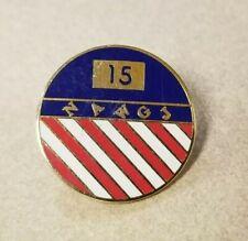 New listing NAWGJ 15 National Association of Women's Gymnastics Enamel Pin Pinback Lapel
