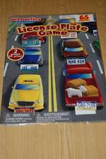 IMAGINETICS MAGNETIC LICENSE PLATE GAME - 65 PIECES - 2011 - BNIP