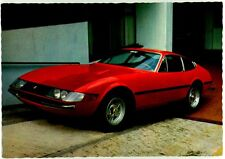 Cartolina Auto Ferrari Daitona 12 Cil. 4400 cc. Non Viaggiata