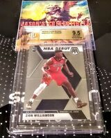 2019 Panini Mosaic ZION WILLIAMSON NBA Debut Rookie RC #269 **BGS 9.5**GEM MINT