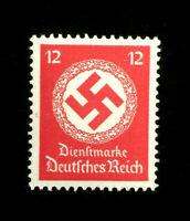 Authentic Germany MNH WWII PF12 Stamp 1942 WWII Emblem