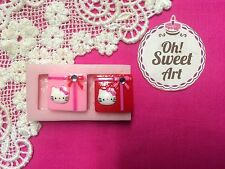 Hello Kitty Gift  Silicone Mold Food  toppers Safe Cake Decoration Cupcake (FDA)