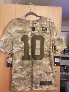 Nike NY Giants NFL Eli Manning CAMO Salute To Service Mens Size Medium New