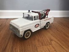 Vintage Tonka Toys AA Wrecker Tow Truck Pressed Steel Truck 24 Hour Tow