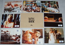 BETTER THAN SEX David Wenham Australia Susie Porter 8 FRENCH LOBBY CARDs