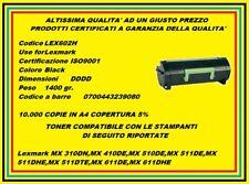 Chip Lexmark Mx310 Mx410 Mx510 Mx511 Mx611-10k#60f2h00