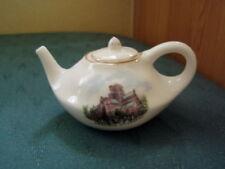 Unboxed Teapot Goss Porcelain & China